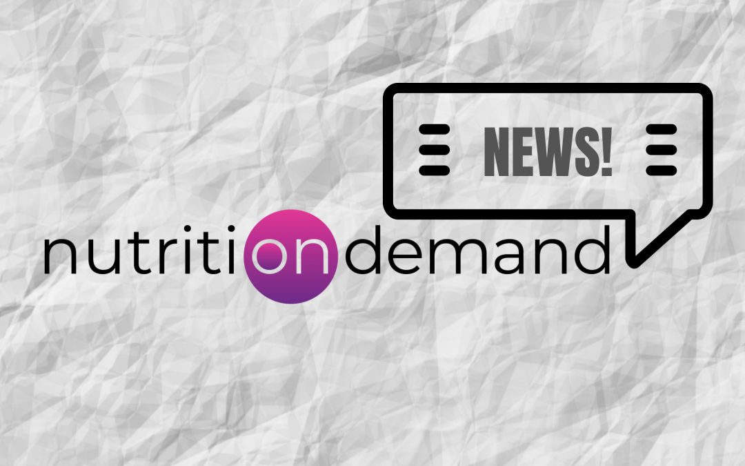 Our World Is Changing, So Is Nutrition On Demand!