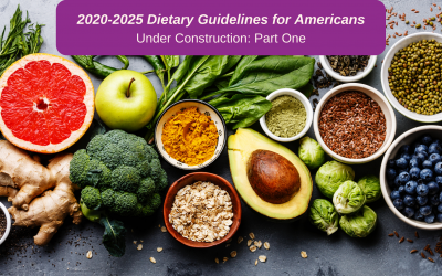 2020-2025 Dietary Guidelines for Americans: An Informed Look at DGAC Report Translation Into Policy (Part I)